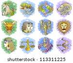Zodiac Icon Vector Set  Vector...