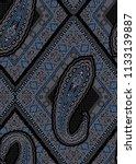 seamless paisley pattern on... | Shutterstock . vector #1133139887