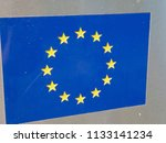 european union flag | Shutterstock . vector #1133141234