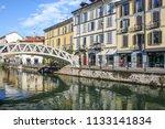 milan  italy   august 15  2015  ... | Shutterstock . vector #1133141834