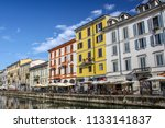 milan  italy   august 15  2015  ... | Shutterstock . vector #1133141837