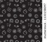startup creative dark vector... | Shutterstock .eps vector #1133158097