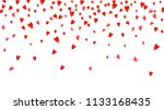 heart border background with... | Shutterstock .eps vector #1133168435