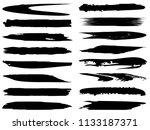 vector collection of artistic... | Shutterstock .eps vector #1133187371