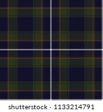 plaid square pattern seamless... | Shutterstock .eps vector #1133214791