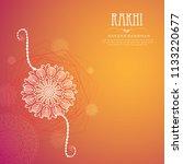 vector abstract for raksha... | Shutterstock .eps vector #1133220677
