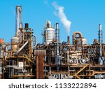 architecture of petrochemical... | Shutterstock . vector #1133222894