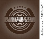 be the best version of you... | Shutterstock .eps vector #1133248661