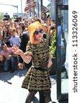 Постер, плакат: American singer Lady Gaga