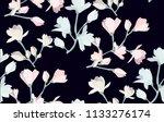 Watercolor Bouquet Of Flowers....