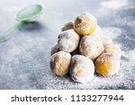 Donuts With Sugar Powder