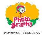 photography contest logo ... | Shutterstock .eps vector #1133308727