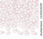social media icons. social... | Shutterstock .eps vector #1133310239