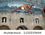 figueres  spain   august 12 ... | Shutterstock . vector #1133319644