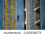 construction and winch | Shutterstock . vector #1133328275
