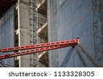 construction and winch | Shutterstock . vector #1133328305