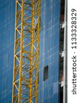 construction and winch | Shutterstock . vector #1133328329