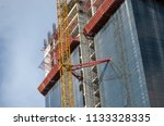 construction and winch | Shutterstock . vector #1133328335