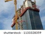 construction and winch | Shutterstock . vector #1133328359