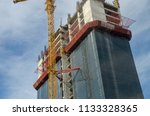 construction and winch | Shutterstock . vector #1133328365
