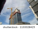 construction and winch | Shutterstock . vector #1133328425