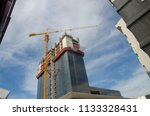 construction and winch | Shutterstock . vector #1133328431