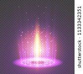 magic portal of fantasy.... | Shutterstock .eps vector #1133342351