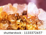 close up of clasters of yellow... | Shutterstock . vector #1133372657