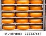Dutch Cheese In A Cart