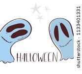 halloween character big head...   Shutterstock .eps vector #1133401331