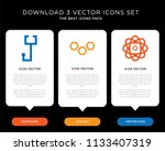 business infographic template... | Shutterstock .eps vector #1133407319