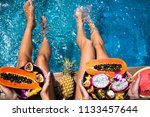 summertime close up picture of... | Shutterstock . vector #1133457644