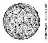 big data visualization. hud... | Shutterstock .eps vector #1133471405