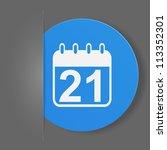 web element. vector... | Shutterstock .eps vector #113352301