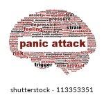 panic attack icon design...   Shutterstock . vector #113353351