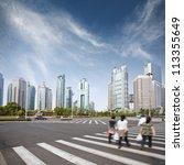 cityscape of modern city... | Shutterstock . vector #113355649