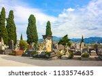 nice  france   june 23  2018 ... | Shutterstock . vector #1133574635