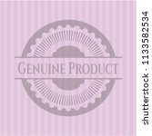 genuine product retro style... | Shutterstock .eps vector #1133582534