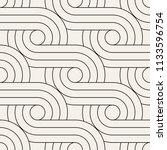 vector seamless pattern. modern ... | Shutterstock .eps vector #1133596754