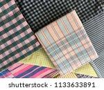 traditional fabrics local hand...   Shutterstock . vector #1133633891