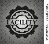 facility dark badge   Shutterstock .eps vector #1133679059
