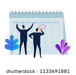 company business team working... | Shutterstock .eps vector #1133691881