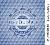 just be nice blue emblem with... | Shutterstock .eps vector #1133702039