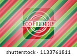 eco friendly christmas style... | Shutterstock .eps vector #1133761811