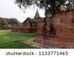 historic sites include the base ... | Shutterstock . vector #1133771465