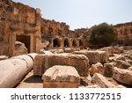 Small photo of Ruins of Jupiter temple, Lebanon, Baalbeck