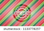 diagnose christmas colors... | Shutterstock .eps vector #1133778257