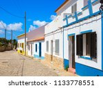 street with typical  portuguese ...   Shutterstock . vector #1133778551