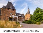 entrance of the ancient castle... | Shutterstock . vector #1133788157