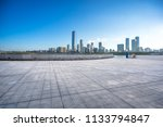 panoramic city skyline with... | Shutterstock . vector #1133794847